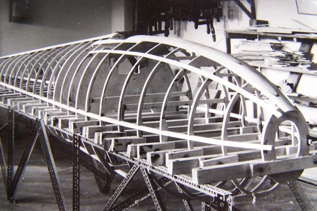 SB 5 Rumpf im Bau